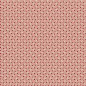 Makower UK - Super Bloom - 7122 - Sweet Pea on Pink Tuberose Background - 9459EL - Cotton Fabric